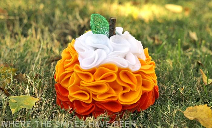 Pumpkin craft ideas -felt