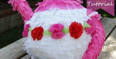 Teapot Piñata DIY Tutorial for a Tea Party