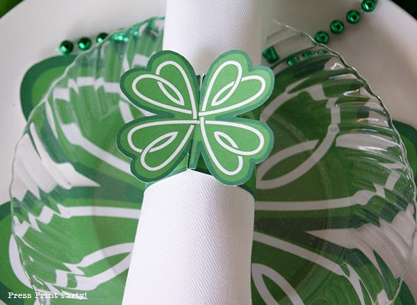 Free St Patrick's Day Printables by Press Print Party!