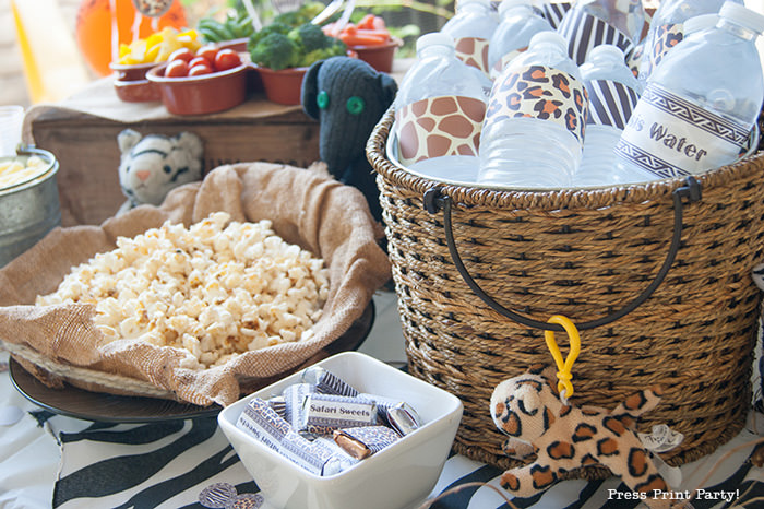 Get Wild african Animal party Safari theme Party Printables - Press Print Party!