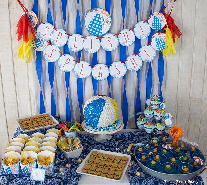 Surprising How To Make A Beach Ball Cake W Mms Press Print Party Birthday Cards Printable Benkemecafe Filternl