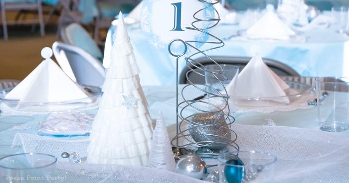 Winter Wedding Reception Centerpieces Winter Wedding Receptions