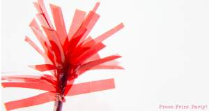 4th of July Fireworks Cupcake Toppers Tutorial by Press Print Party!