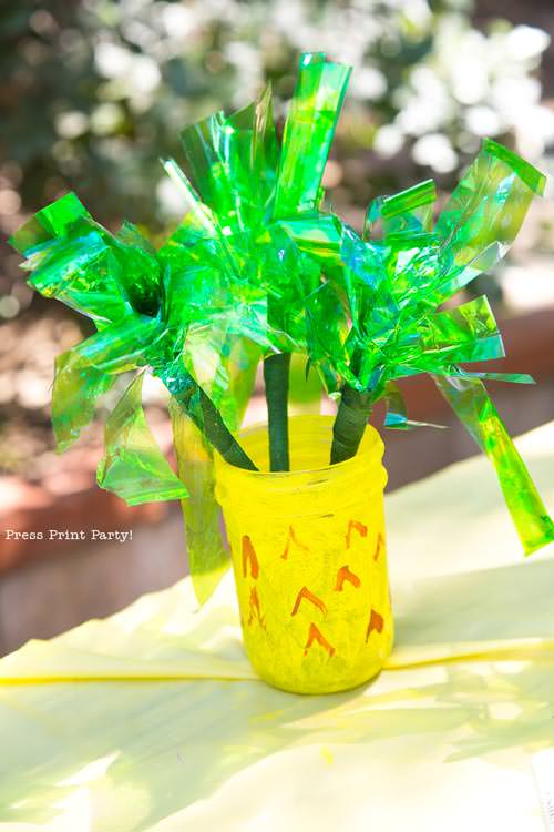 Party like a Pineapple - Pineapple craft - Luau Party - by Press Print Party!