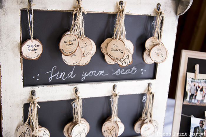 A breathtaking rustic barn wedding - country wedding - Press Print Party! wedding ornements