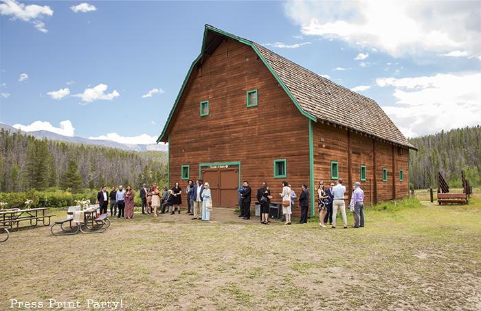 A breathtaking rustic barn wedding - country wedding - Press Print Party! barn exterior