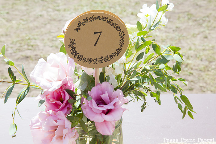 A breathtaking rustic barn wedding - country wedding - Press Print Party! flowers
