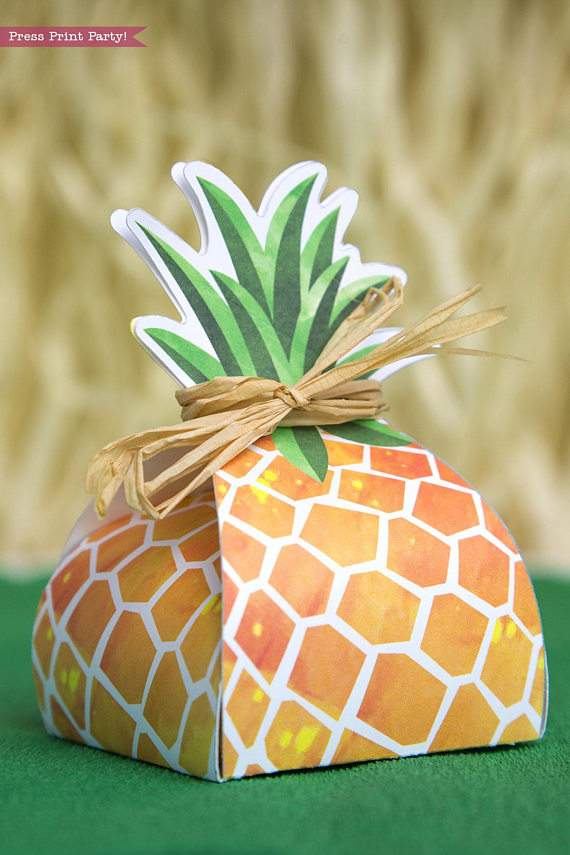 This is a graphic of Pineapple Printable with art