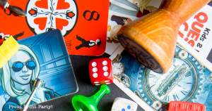 Games Pieces for family game night best games