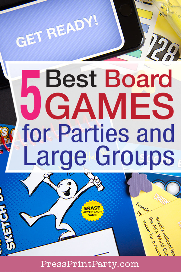 5 best board games for parties or large groups