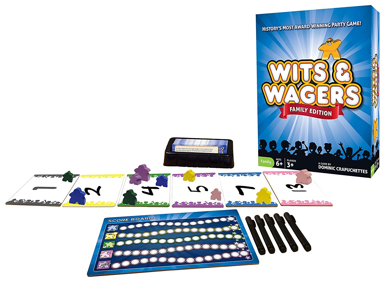 Wits and Wagers family Game Night
