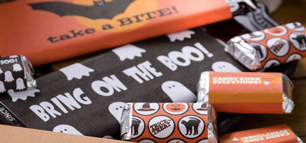 Free Halloween Printables - candy wrappers - List by Press Print Party!