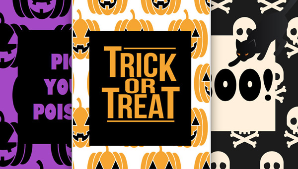 Free Halloween Printables - sign - List by Press Print Party!