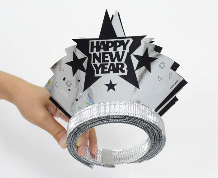 silver tiara happy new year