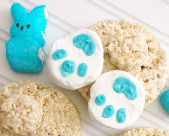 Adorable Easter Treats - bunny butts treats- Press Print Party!