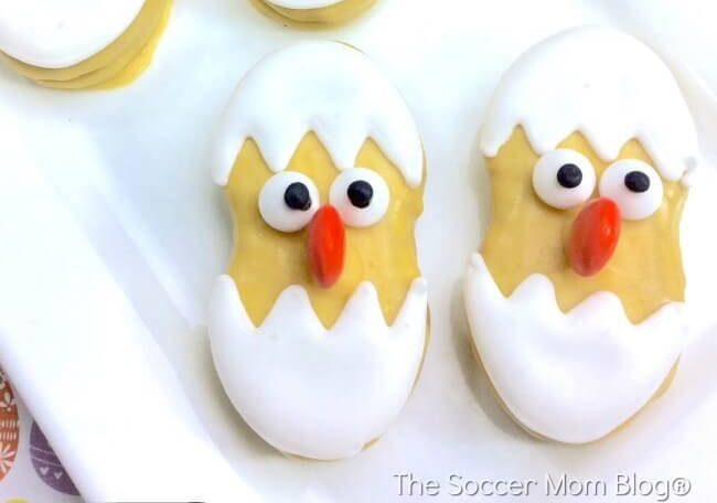 Adorable Easter Treats - nut butter chicks- Press Print Party!