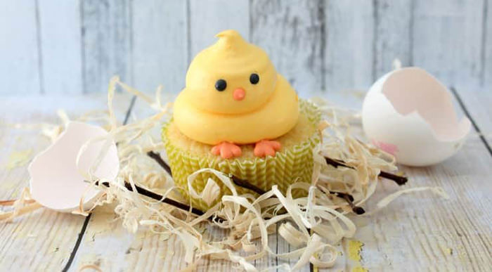 Adorable Easter Treats -chick cupcakes - Press Print Party!