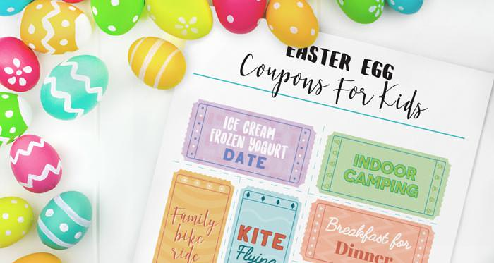 Easter free printable coupons for eggs