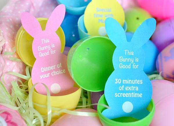 Easter free printable egg coupons
