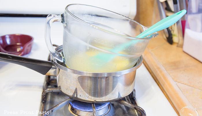 double broiler for lemon curd