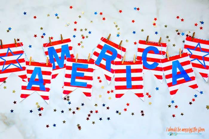 free america pennant