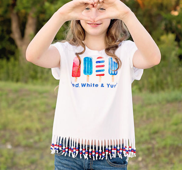 free red white and yum printable and how to make a beaded shirt for 4th of july