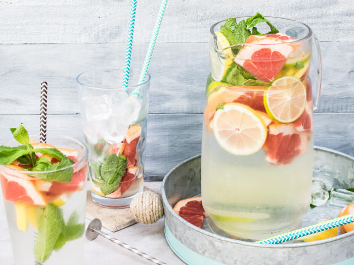 infused water for a party on a budget ideas