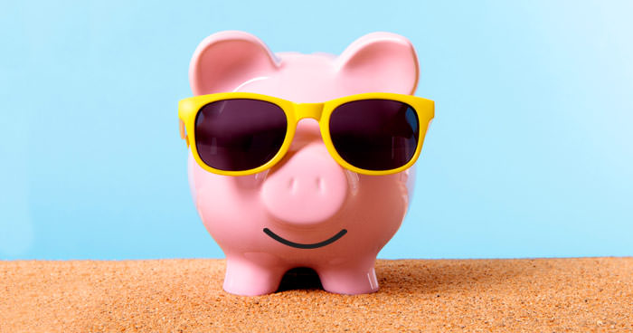 how to party on a budget - party pig