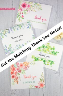 matching thank you notes