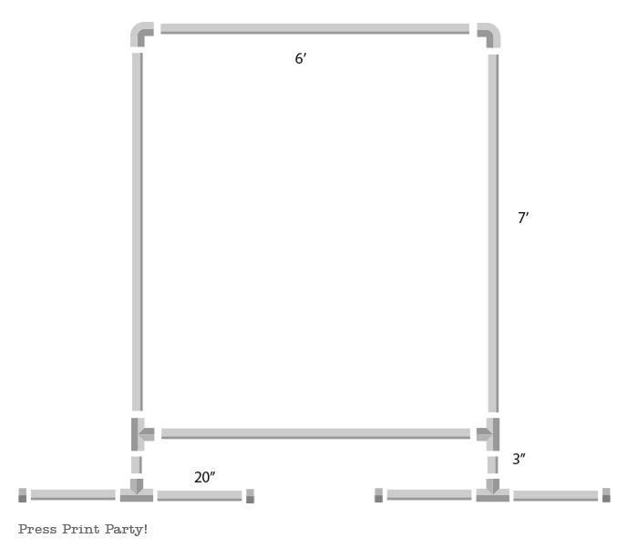 PVC frame schematic - Press Print Party!