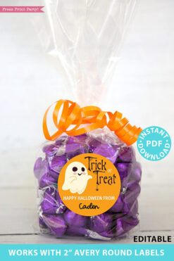 Halloween Labels Printable Avery 2