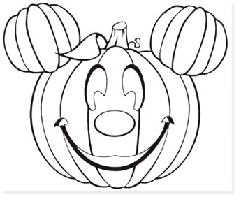 free halloween printable coloring sheets - website roundup - mickey pumpkin coloring pages