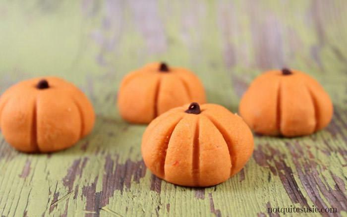 no bake pumpkin treats - Cute desserts for thanksgiving