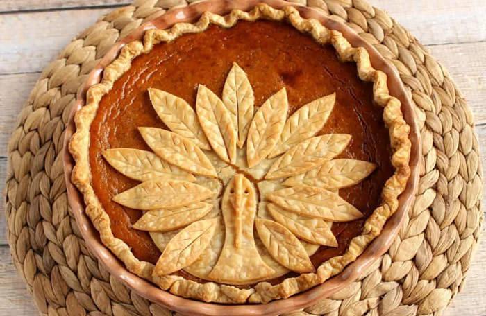 turkey pumpkin pie - Cute desserts for thanksgiving