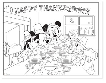 mickey happy thanksgiving