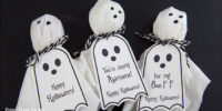 Ghost Lollipops DIY w. Free Printable Halloween Tags