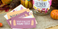 Free Thanksgiving Printable Conversation Cards