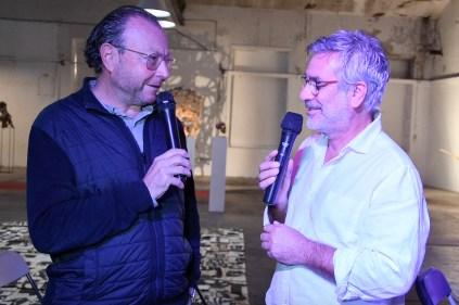 Jacques Chalvin et Franck Presti