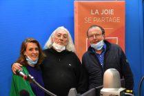Linda Ecalle, Teddy Follenfant, Jacques Chalvin à RCF Vauclus