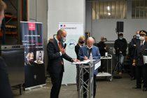 allocution de Hendrik Wehr lors de la signature du partenariat entre Bourgeat et Vorwerk