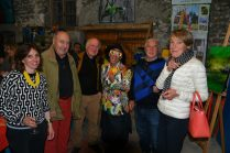 Vernissage de exposition de 7 artistes Internationaux à la Galerie d'Art Emma : «Espoir de Vie»