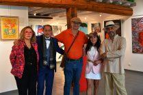 les artistes Marie Céline Audigane, Gregory Blin, Thierry Lambert, Emma Henriot, Shahram Nabati en expo à la Galerie d'Art Emma