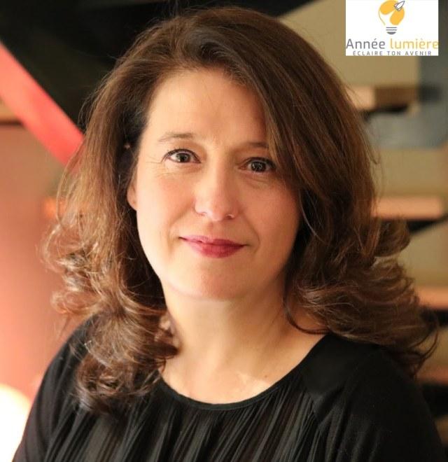 Claire Bleton-Martin, directrice de Année lumière