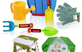 Kid Gardening Tool Set Makes Garden and Beach Play Safer and More Fun 5