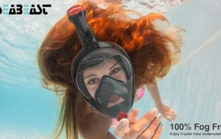 Seabeast Releases the 1st Real Fog Free Snorkel Mask 2