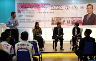 MS SYMPHONY EXERCISE CLINIC LAUNCHES APPRENTICESHIP PROGRAMME SKIM PERANTIS 1Negaraku BY MONSPACE 3