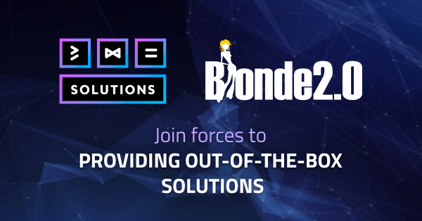 482.solutions and Blonde 2.0 announce strategic partnership providing out-of-the-box solutions for blockchain startups 8