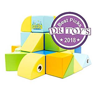 Itty Bitty City's Magnetic Wooden Blocks receive The Dr. Toys 2018 Best Pick award 1