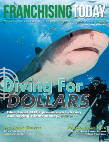 CEO OF BLUE COAST SAVINGS CONSULTANTS FEATURED IN FRANCHISING TODAY MAGAZINE 1
