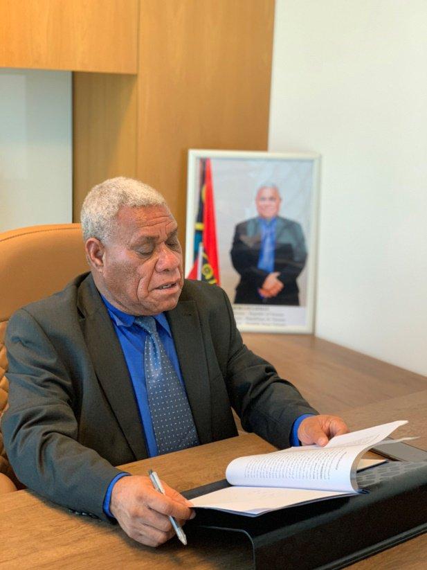 Vanuatu deputy prime minister Bob Loughman: STO will make the next Nasdaq 1